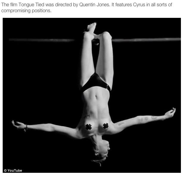 Miley cyrus gimp nude