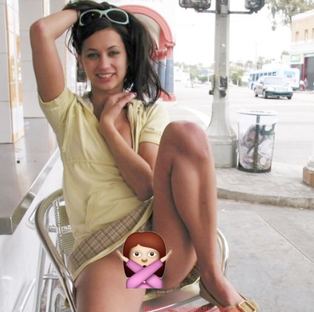 image Saffron being very naughty in retro underwear