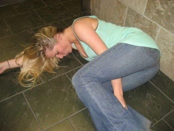 Фото пьяных девушек